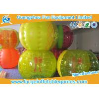 Best Selling Inflatable human bubble bumper soccer ball with fruit printing