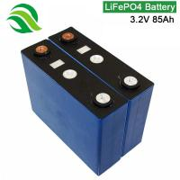China Rechargeable 3.2V 85Ah LiFePO4 Battery Cell Factory Price For EBike AGV Robot Lawn Mower on sale