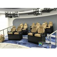 Genuine leather Mobile 5D Movie Theater In Truck Or Trailer Back Poking Effects Manufactures