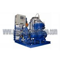 China 4000 LPH Partial Discharge Diesel Marine Oil Purifier Centrifuge Separation on sale