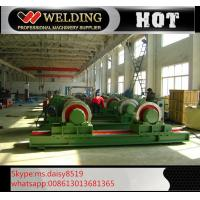 Fit Up And Assembly Pipe Welding Rotator , Manual Adjustable Welding Turning Roller HGK40 Manufactures