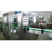 Fully Automatic Beer Glass Bottle Filling Machine / Glass Bottle Packing Machine Manufactures
