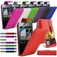 Green Premium Leather Flip Huawei Mobile Phone Cases , Skin Covers For Phones Manufactures