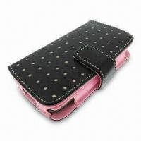 Mobile Phone Case, Made of Wallet Leather, Suitable for iPhone 3G Manufactures