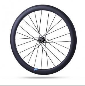 38mm / 50mm Carbon Road Bike Wheels , Good Carbon Disc Wheelset 700c U Shape Manufactures