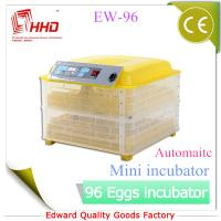 Quality EW-96 Automatic Newest CE certificate automatic incubator for quail eggs for sale for sale