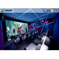 Interactive Truck Mobile 5D Cinema With Special Effect Motion Seat Manufactures
