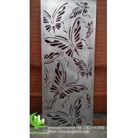 Butterfly Metal aluminum cladding panel carved panel sheet for facade Manufactures