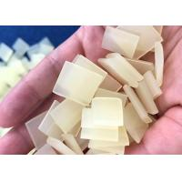 Pallets Shape Eva Hot Melt Adhesive Side Bookbinding  In Light Yellow Color Manufactures