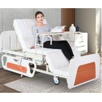 China Medical Bed Back Adjustable Rotating Hospital Electric Nursing Bed For Home In White on sale