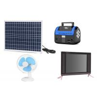 Kenya M Pesa Solar , Pay As You Go Solar Panels Easy Operation With FM Radio Manufactures