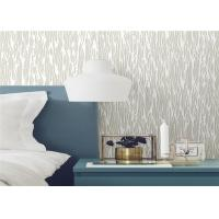 Moisture Resistant Country Style Wallpaper PVC For Bed Room / Living Room Manufactures