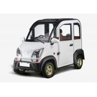 1200W 3 Seats Mini Electric Car Disc Brake Steering Whleel For Family 2430*1196*1609 MM Manufactures
