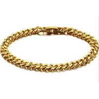 Wholesale fashion jewerly 18K Gold plated steel bracelet -BR31 Manufactures