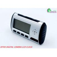 Remote Control Wifi Camera Clock Full HD 720P P2P Network For Home / Office Security Manufactures