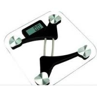 China Professional safety tempered glass Health digital Scale with 2AAA Battery on sale