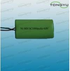 4.8V 1000mAh SC NiMh Rechargeable Battery Pack for LED Lights , Digital Cameras Manufactures
