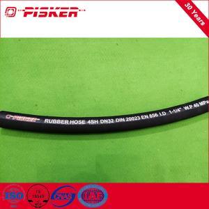China China Manufacturer High Pressure Hose Wire Spiral Hydraulic Hose 4SH on sale