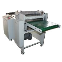 rubber material slitting and sheeting machine with conveyor belt Manufactures