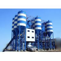 China Belt Type Hzs90 Fixed Ready Mix Concrete Plant 2250L Charging Volume on sale