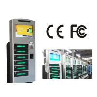 China Free Standing Cell Phone Charging Station With 6 Safe E - Lock Charging Box on sale