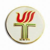 China Badge/Emblem/Pin, Suitable for Awards, Promotional Gifts on sale
