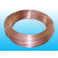 China Good Plasticity Air Conditioning Copper Tubing / Condenser Tube 3.6* 0.5 mm on sale