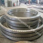 Asme b16.5 grade2 grade7 titanium Marine flange Manufactures
