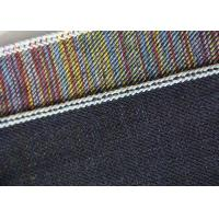 15.5oz Color Blended Stretch Cotton Twill Fabric Straight For Jeans Breathability Manufactures