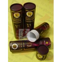 China 8 Inch Cardboard Tube Packaging Cylindrical Glossy Lamination Printing on sale