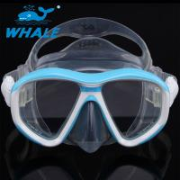 Anti - Fogging Silicone Diving Mask Tempered Glass Clear View Scuba Diving Mask Manufactures