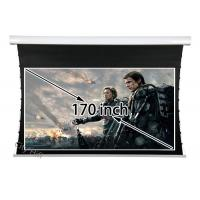 China Smart Remote Control Tab - tension Screen , Motorised 3D Front Projection Screens on sale