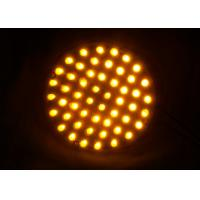 Dia.100mm Traffic Arrow Boards PC Material UV Proof Wired Powered Warning Lights Manufactures