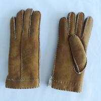 China High quality shearling sheepskin gloves warm double face Australia sheepskin shearling gloves on sale