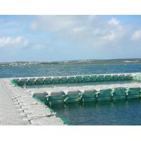 HDPE Modular Floating Dock System High Compression Load Free Maintenance Manufactures