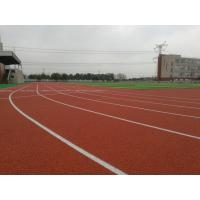 High Elasticity Track And Field Rubber Runway Shock Absorption Recycled Material Manufactures