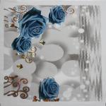603*603*7mm Pvc Ceiling Panel , Heat Insulation Decorative Ceiling Tiles Manufactures