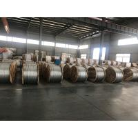 "Size 5/16"" 7x2.64mm Galvanized Steel Wire Strand , Galvanized Steel Cable Manufactures"