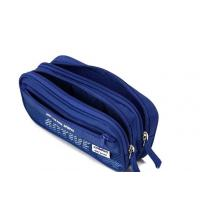 China Modern Cool Zipper Pencil Bag Multi Compartment Pencil Case Big Capacity on sale