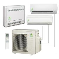 All In One Split Type Air Conditioner , Durable 9000 Btu Ductless Air Conditione