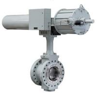 China Size DN 80 - DN 2000 Pneumatic Butterfly Control Valve Alloy / Steel Material on sale