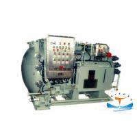 LCD Display Marine Sewage Treatment Plant , 1.5kw Black Water Treatment Plant Manufactures