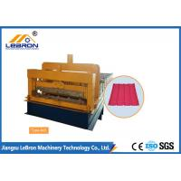 Steel Chrome Plated Glazed Tile Forming Machine High Production Long Time Service