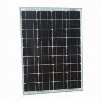 Solar Panel with 60W Power and 9 to 18V Working Voltages, Customized Sizes are Accepted Manufactures