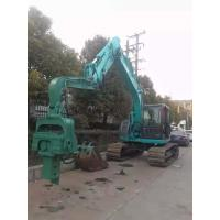 Flexible Control Small Pile Driver Short Working Period Reliable Performance Manufactures