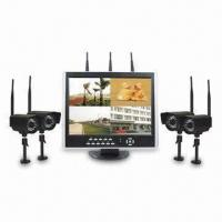 Wireless H.264 DVR Wireless Camera System with Dynamic Selection Technology to Resist Interference Manufactures
