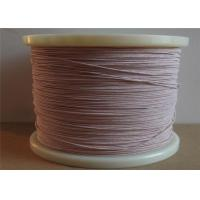 China 0.02 - 0.5mm Diameter Strands Enamelled Copper Wire Litz Magnet Wire For Increased Efficiency on sale