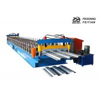 688 Steel Floor Tiles Making Machine , PLC Control Cold Roll Forming Machine Manufactures