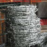 China Double Twist Steel 14 Gauge*12 Gauge Galvanized Barbed Wires/hot-dipped galvanized barbed wire really factory on sale
