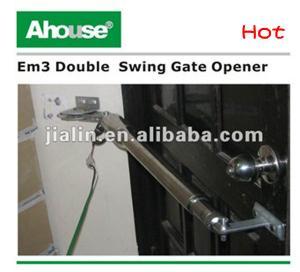 China DC swing gate opener/door operator/door system/Single Solar Power Gate Opener Kit on sale
